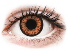 Lentillas de color naranja - sin graduación - ColourVUE Crazy Lens - Twilight - Diarias sin graduación (2 Lentillas)