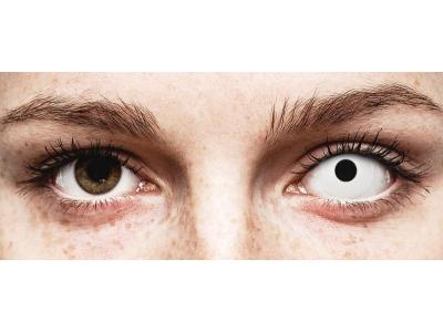 ColourVUE Crazy Lens - Whiteout - Diarias sin graduación (2 Lentillas)