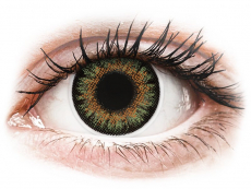 Lentillas de color verde - con graduación - ColourVue One Day TruBlends Green - Graduadas (10 lentillas)