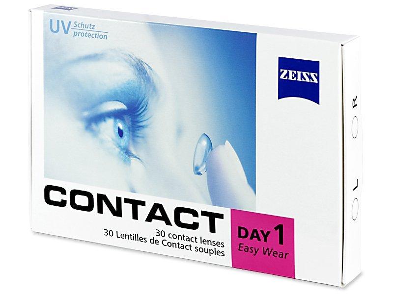 Carl Zeiss Contact Day 1 (30lentillas) - Lentillas diarias desechables - Zeiss
