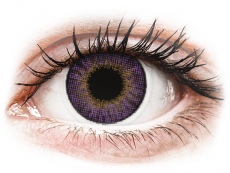 Lentillas de colores con graduación - Air Optix Colors - Amethyst - Graduadas (2 Lentillas)