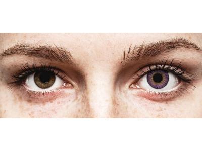 Air Optix Colors - Amethyst - Sin graduación (2 lentillas)