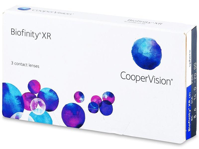 Biofinity XR (3lentillas) - Lentillas mensuales