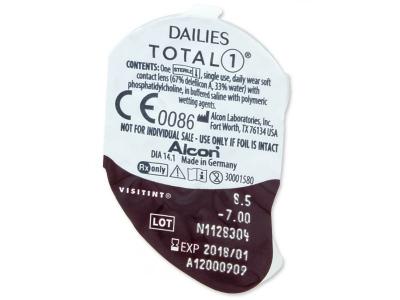 Dailies TOTAL1 (90lentillas) - Previsualización del blister