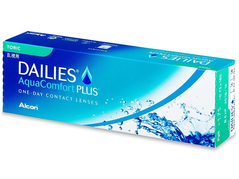 Dailies AquaComfort Plus Toric (30lentillas) - Lentillas tóricas - Alcon