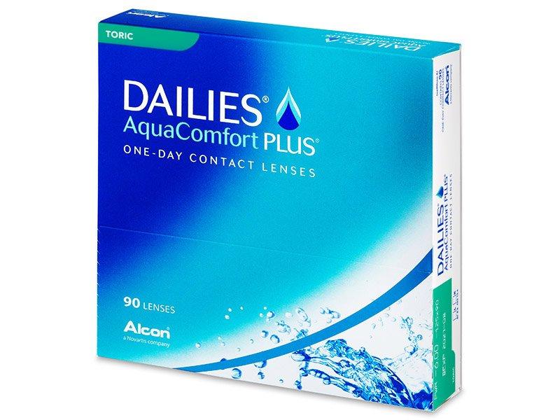 Dailies AquaComfort Plus Toric (90 lentillas) - Lentillas tóricas