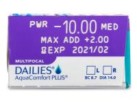 Dailies AquaComfort Plus Multifocal (30lentillas) - Previsualización de atributos
