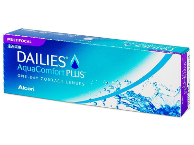 Dailies AquaComfort Plus Multifocal (30 lentillas) - Lentillas multifocales