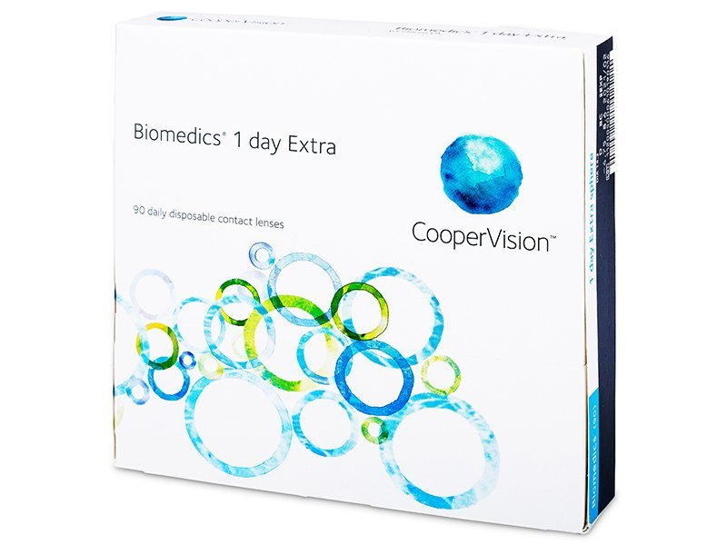 Biomedics 1 Day Extra (90 lentillas)