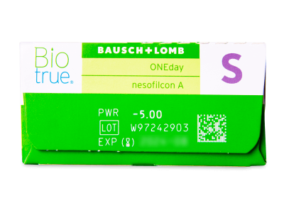 Biotrue ONEday (30lentillas) - Previsualización de atributos