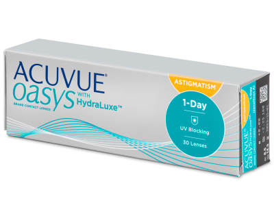 Acuvue Oasys 1-Day with HydraLuxe for Astigmatism (30 lentillas)