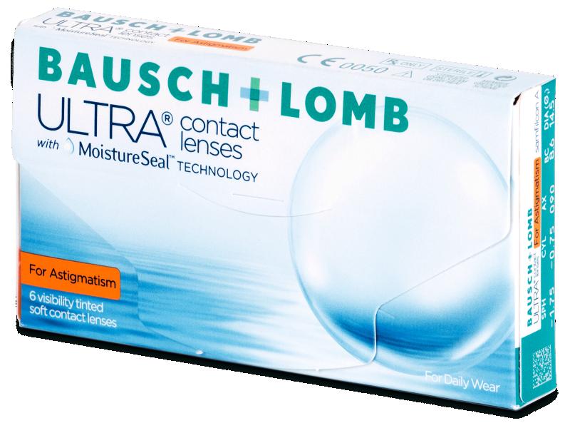 Bausch + Lomb ULTRA for Astigmatism (6 Lentillas) - Lentillas tóricas