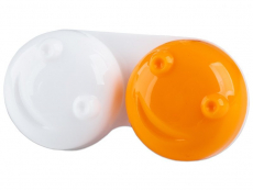 Accesorios - Estuche de lentillas 3D - naranja