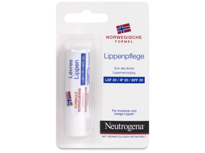Neutrogena Protector Labial SPF20  - Diseño antiguo
