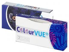 ColourVUE 3 Tones Aqua - Sin graduación (2lentillas)