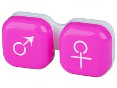 Accesorios - Estuche de lentillas mujer y hombre - rosa