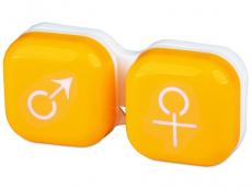 Accesorios - Estuche de lentillas - mujer y hombre - Amarillo