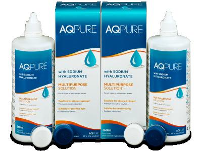 Líquido AQ Pure 2 x 360 ml  - Pack ahorro - solución doble