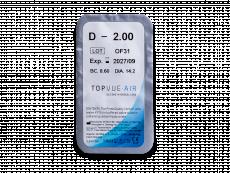 TopVue Air (6 Lentillas) - Previsualización del blister