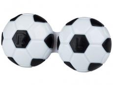 Accesorios - Estuche de lentillas Futbol - negro