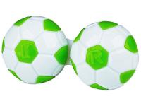 Estuche de lentillas futbol- verde