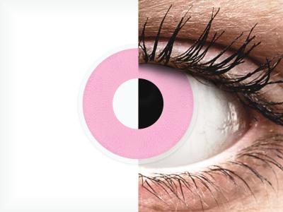 ColourVUE Crazy Lens - Barbie Pink - Sin graduación (2 lentillas)