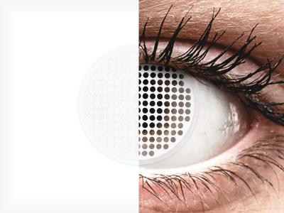 ColourVUE Crazy Lens - White Screen - Sin graduación (2 lentillas)