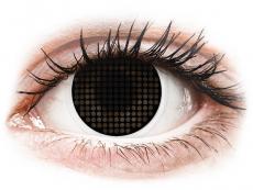Lentillas de color negro - sin graduación - ColourVUE Crazy Lens - Black Screen - Sin graduación (2lentillas)