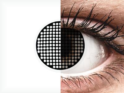 ColourVUE Crazy Lens - Black Screen - Sin graduación (2 lentillas)