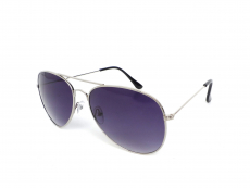 Gafas de sol Hombre - Gafas de sol Alensa Pilot Silver