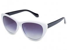 Gafas de sol Cat Eye - Gafas de sol OutWear - Blanco/Negro