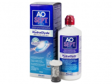 Lentillas Alcon - Líquido AO SEPT PLUS HydraGlyde 360 ml