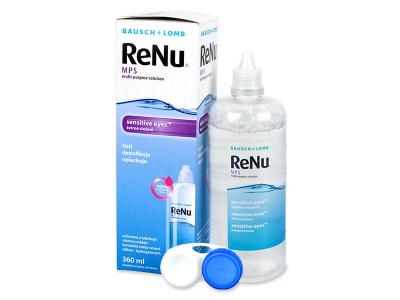 Líquido ReNu MPS Sensitive Eyes 360 ml  - Diseño antiguo