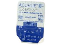 Acuvue Oasys (12lentillas) - Previsualización del blister