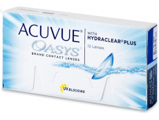Lentillas Johnson and Johnson - Acuvue Oasys (12 lentillas)
