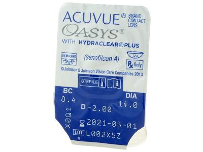 Acuvue Oasys (24 lentillas) - Previsualización del blister