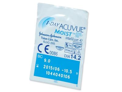 1 Day Acuvue Moist (180Lentillas) - Previsualización del blister