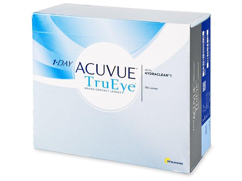 1 Day Acuvue TruEye (180lentillas) - Lentillas diarias desechables - Johnson and Johnson