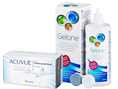 Acuvue Oasys (24 Lentillas) + Gelone 360 ml