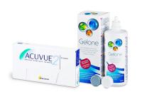 Acuvue 2 (6 Lentillas) + Gelone 360 ml