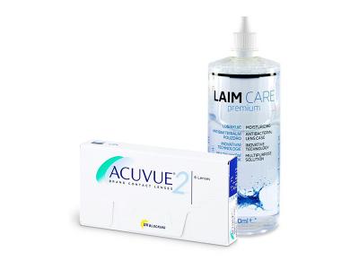 Acuvue 2 (6 Lentillas) + Laim-Care 400 ml