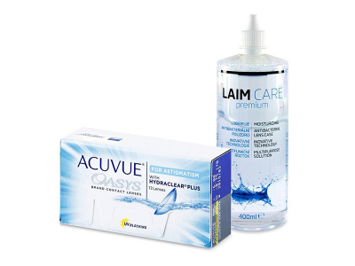 Acuvue Oasys for Astigmatism (12 Lentillas) + Laim-Care 400 ml