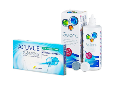 Acuvue Oasys for Presbyopia (6 Lentillas) + Gelone 360 ml