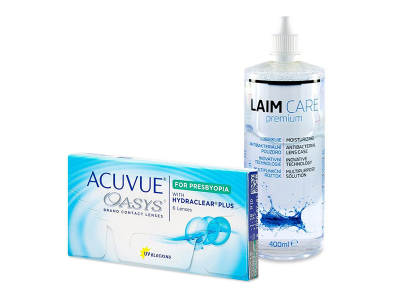 Acuvue Oasys for Presbyopia (6 Lentillas) + Laim-Care 400 ml