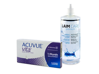 Acuvue Vita (6 Lentillas) + Laim-Care 400 ml