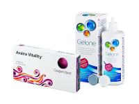 Avaira Vitality (6 Lentillas) + Gelone 360 ml