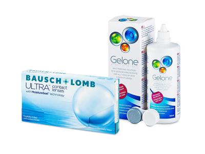 Bausch + Lomb ULTRA (6 Lentillas) + Gelone 360 ml