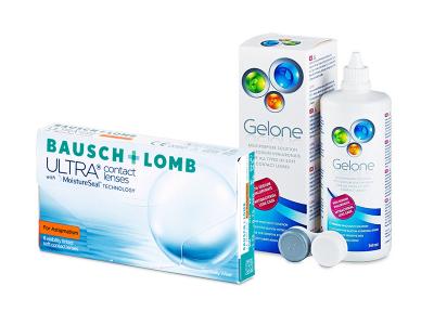 Bausch + Lomb ULTRA for Astigmatism (6 Lentillas) + Gelone 360 ml