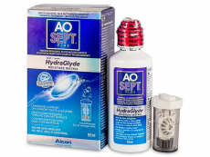 Lentillas Alcon - Líquido AO SEPT PLUS HydraGlyde 90 ml