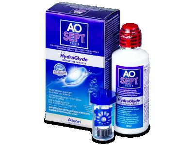 Líquido AO SEPT PLUS HydraGlyde 90ml  - líquido de limpieza